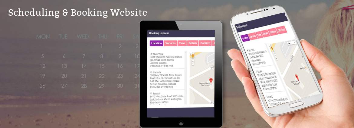 Scheduling & Booking Website Design