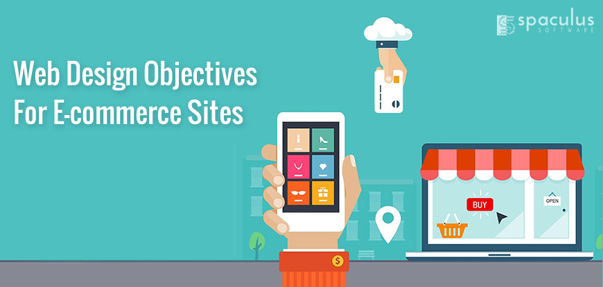 Web design objectives for ecommerce