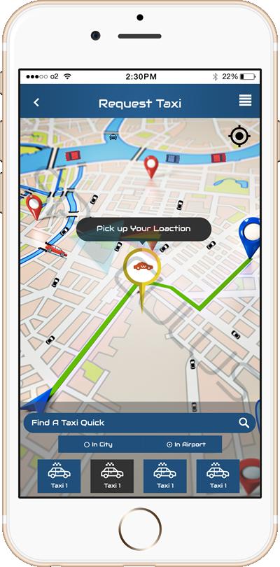 Taxi Booking Apps portfolio2