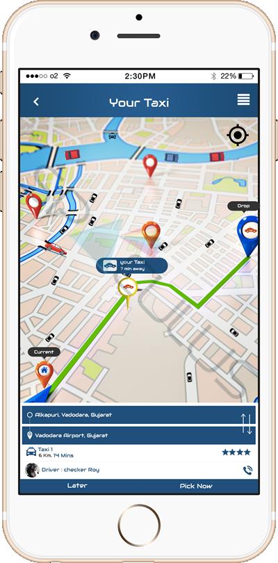 Taxi Booking Apps portfolio3