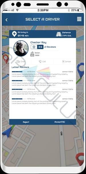 Taxi Booking Apps portfolio7