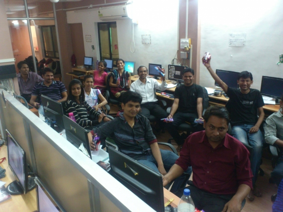 Day Celebration at old office